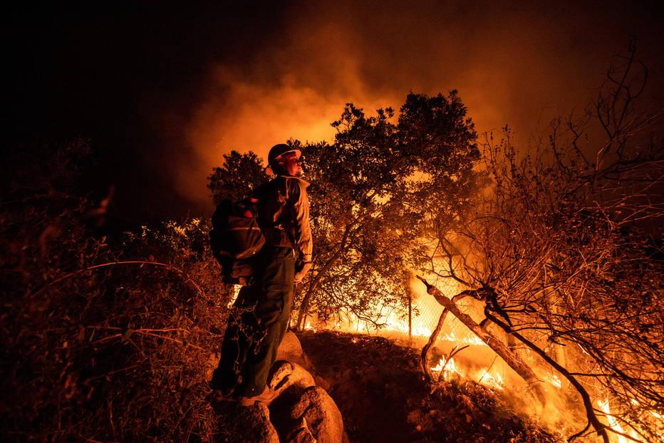 Califórnia - incêndio