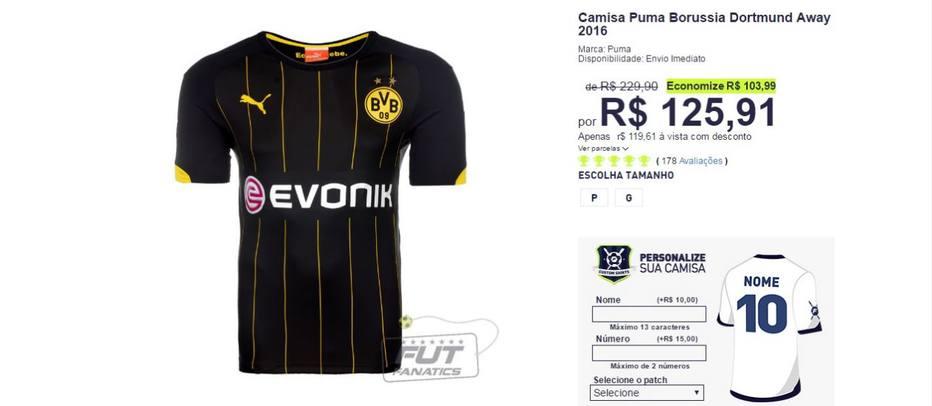 As melhores ofertas de camisas de futebol na Black Friday 6351d136d2dbf