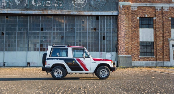 Mitsubishi Pajero Paris-Dakar vai a leilão