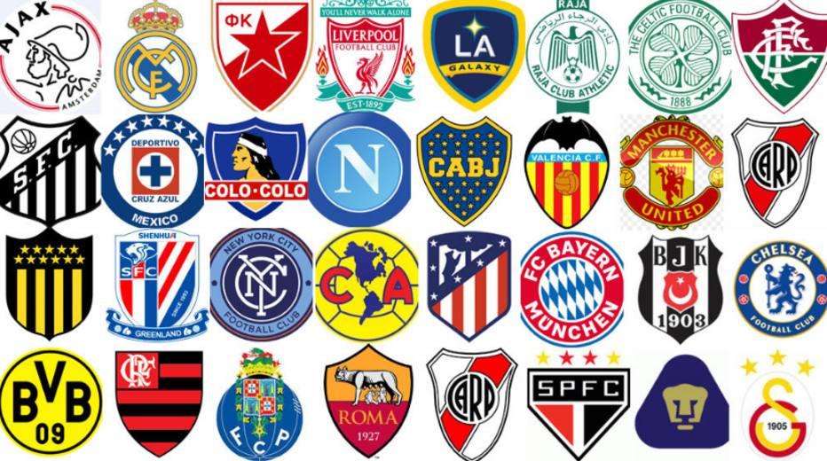 Em nova enquete palmeiras aparece entre os 2 escudos mais belos do mundo futebol fera - Logo club foot bresil ...