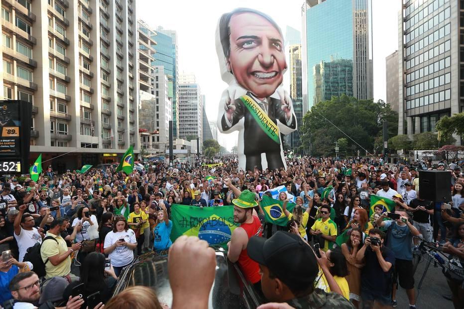 Bolsonaro manifestantes
