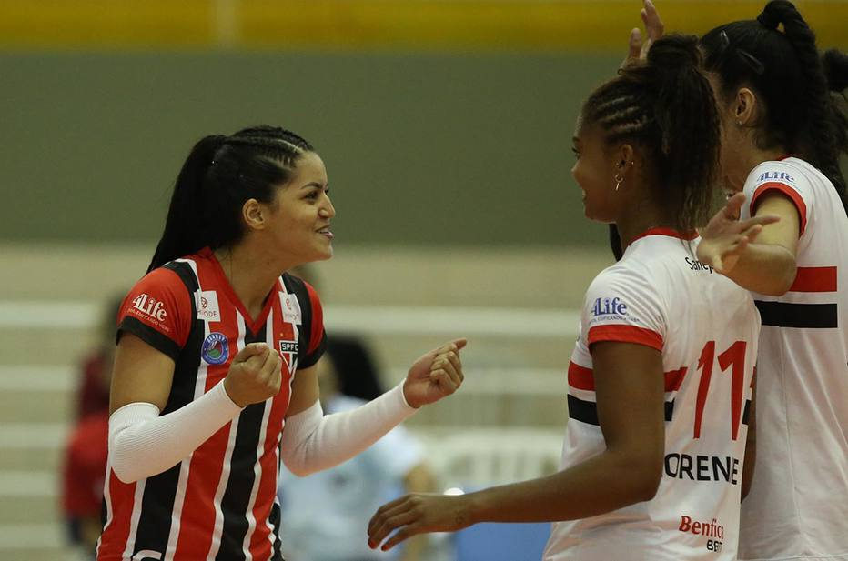Time feminino de vôlei do São Paulo