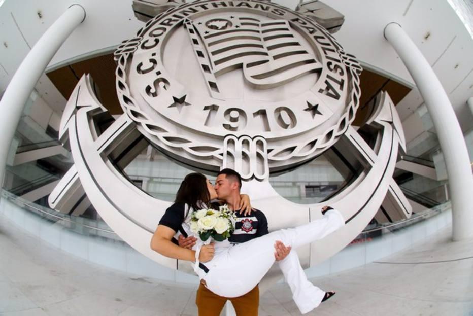 Quer se casar na Arena Corinthians  Clube lança projeto  Prometo ser ... 25c545190b2b9