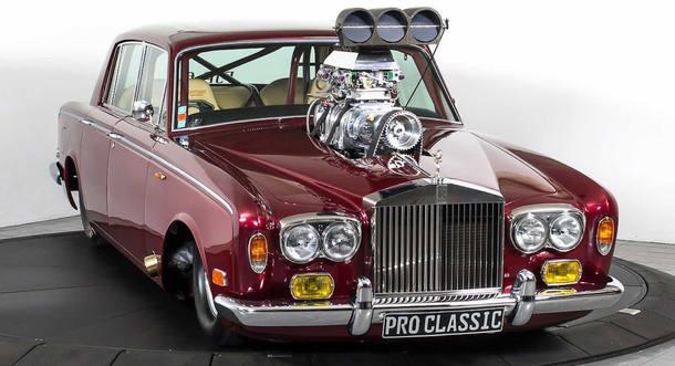Rolls-Royce dragster