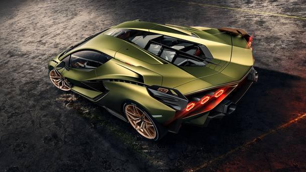 Lamborghini Sián é o primeiro híbrido da marca