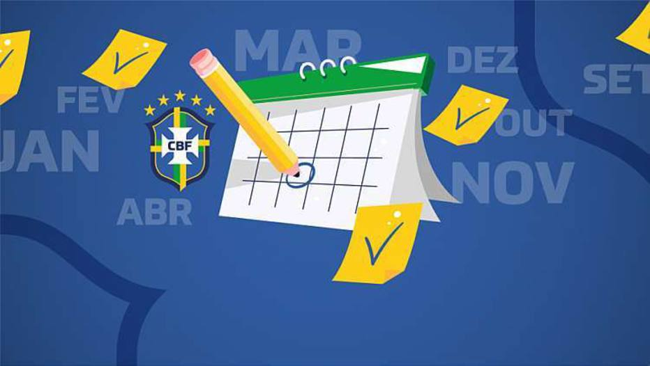 CBF anuncia novo calendário do futebol para a temporada