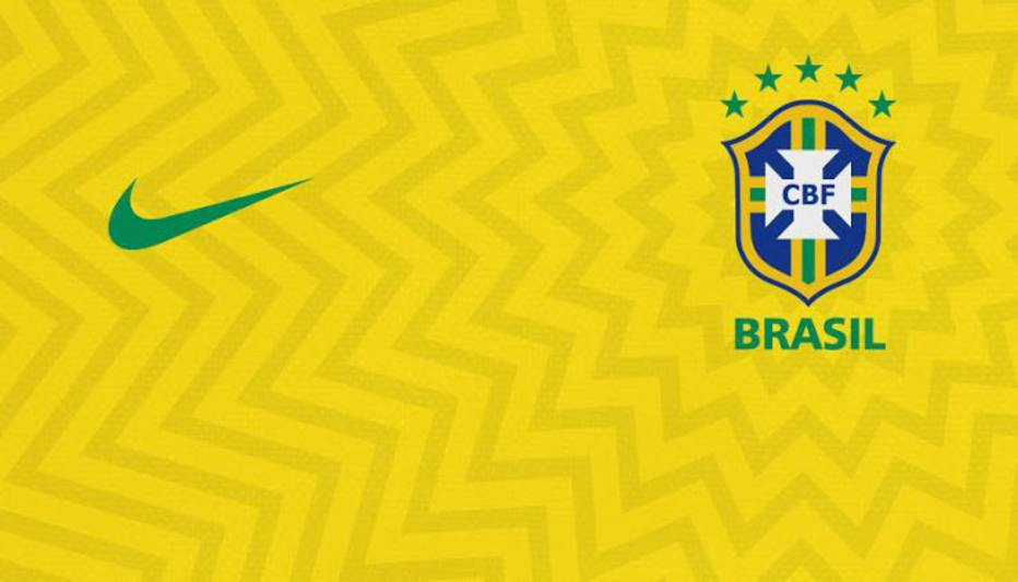 Site especializado vaza possível camisa da seleção para Copa da Rússia. Nova  camisa do Brasil ... e67bb606cb149