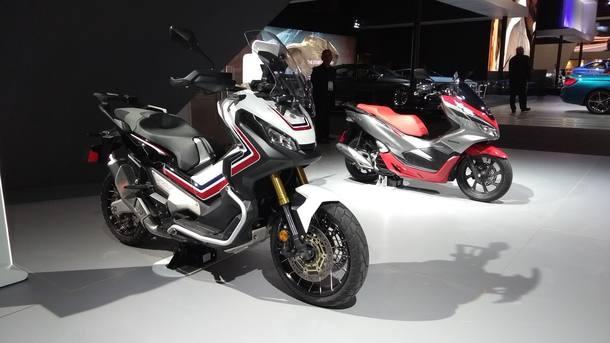 As motos no Salão do Automóvel 2018