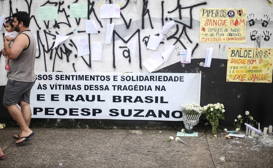 Escola Estadual Professor Raul Brasil foi alvo de ataque a tiros em Suzano (SP)