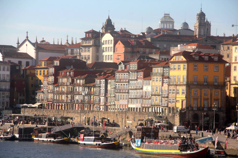 A charmosa e atrativa cidade  do Porto