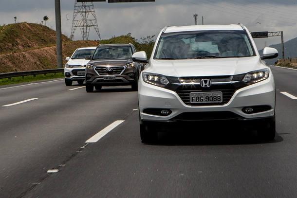 Chevrolet Tracker x Hyundai Creta x Honda HR-V