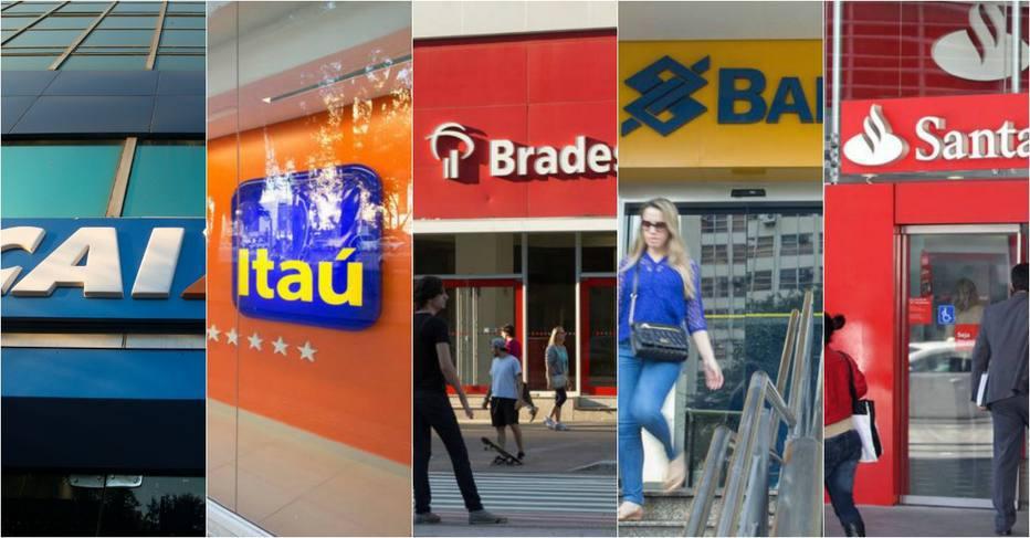 5 grandes bancos