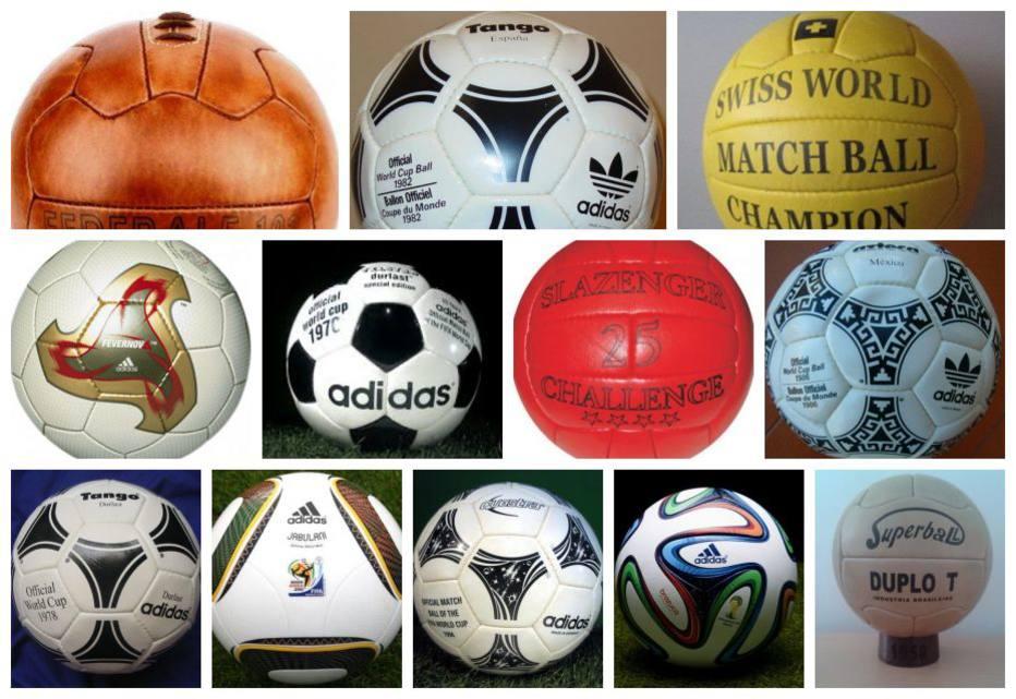 Conheça todas as bolas oficiais usadas nas Copas do Mundo 298854e8ddd60