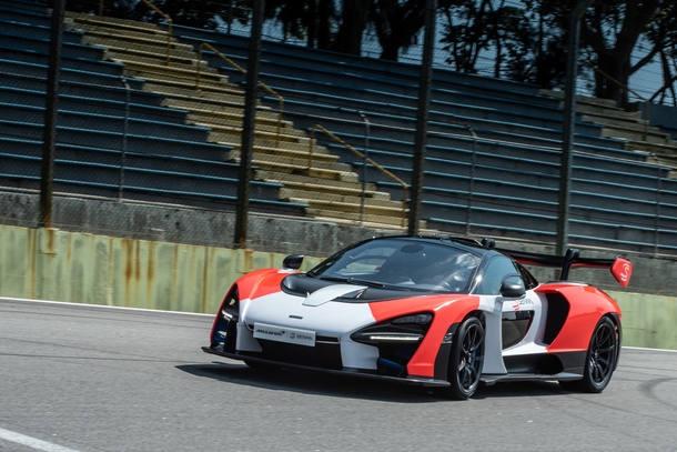 Testamos o McLaren Senna