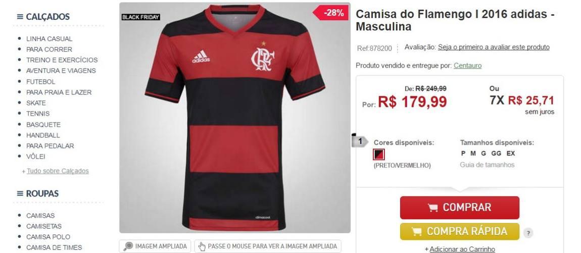 a329267c4 As melhores ofertas de camisas de futebol na Black Friday