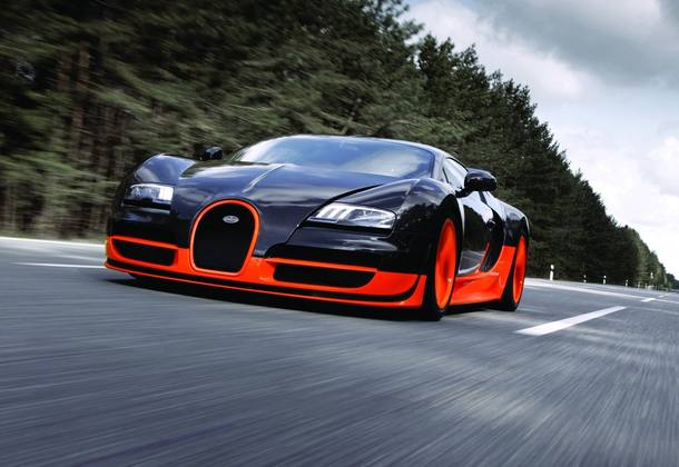 Os carros mais rápidos do mundo em 2017