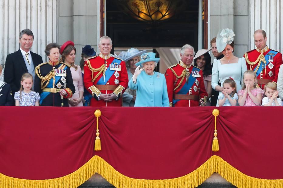 Homenagem ao aniversário da rainha