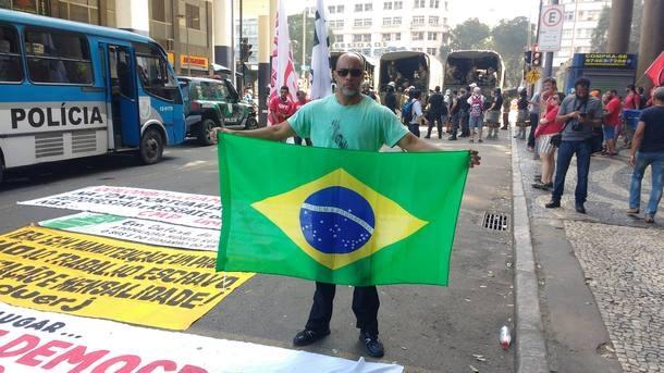 Welington Moreira de Carvalho, preso pela PF sob acusação de promover terrorismo, alega que era colaborador da da Agência Brasileira de Inteligência (Abin)
