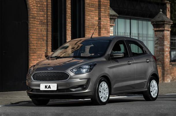 4º - Ford Ka
