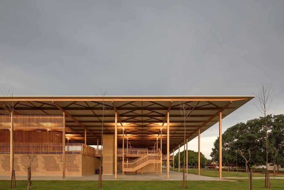 A escola da Fazenda Canuanã, em Formoso do Araguaia, (TO)