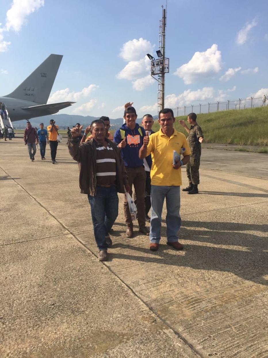 Venezuelanos desembarcam em SP