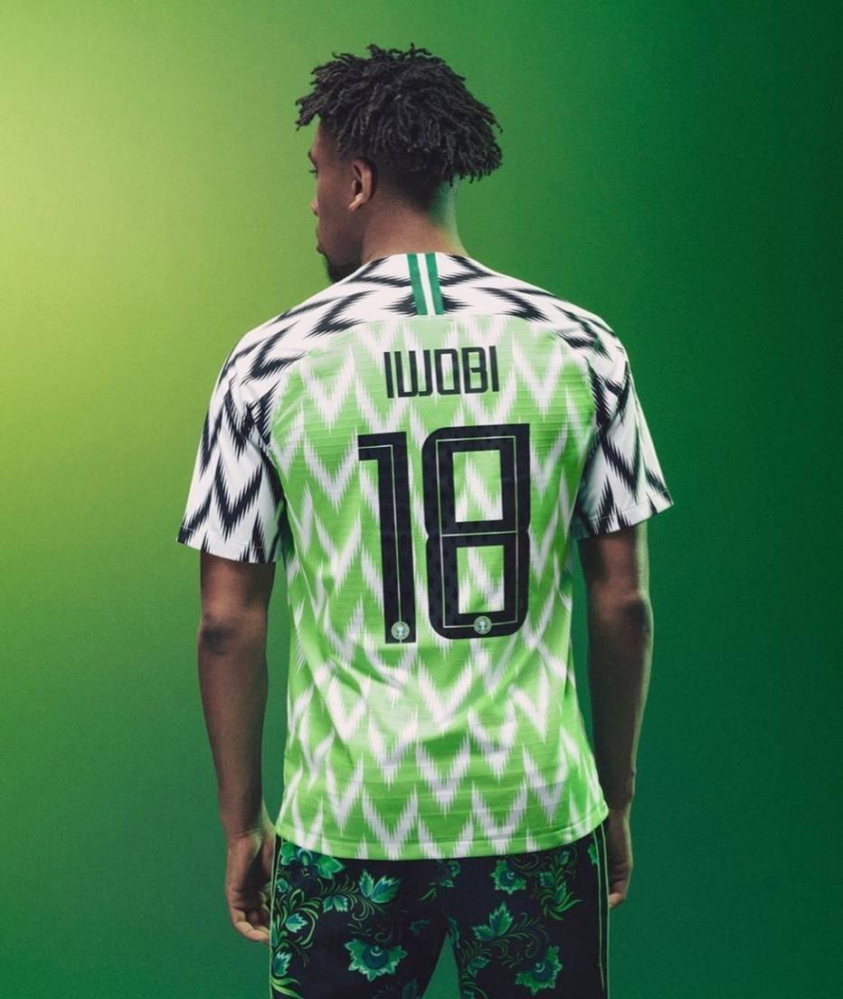 c9db36d049e41 Camisa da Nigéria na Copa do Mundo disputa prêmio com grifes famosas ...
