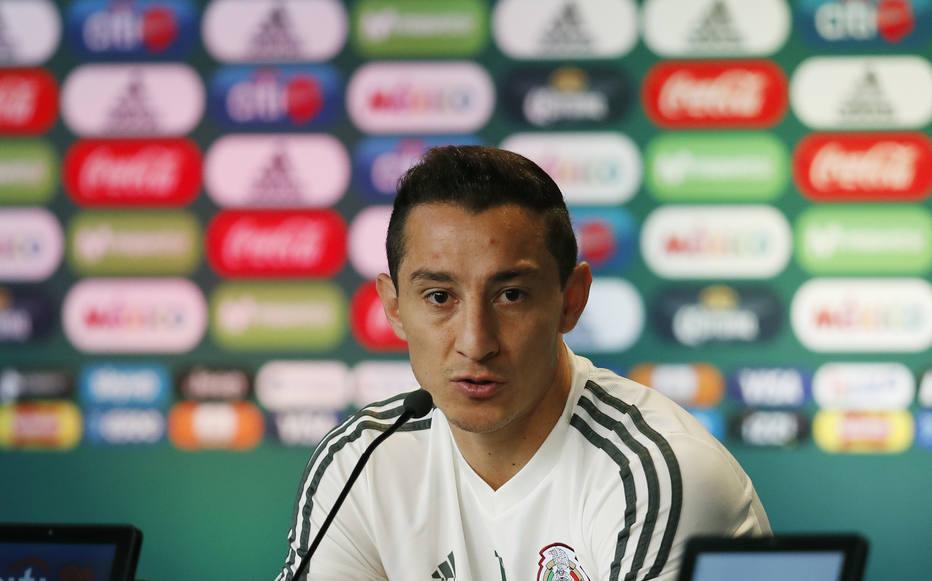 Andrés Guardado, meia da seleção mexicana
