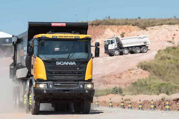 Scania Heavy Tipper