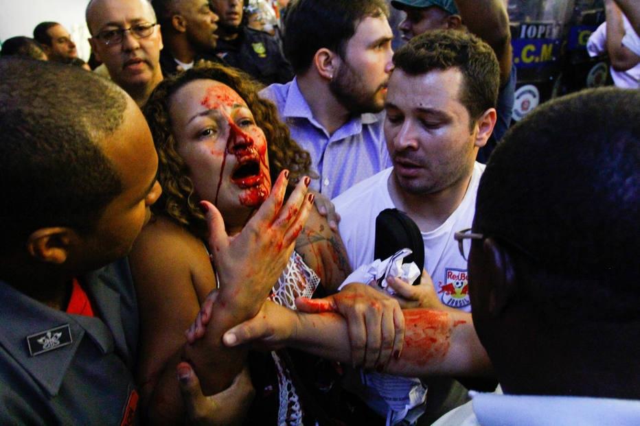 Protesto na Câmara Municipal de São Paulo