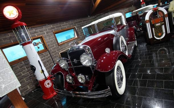 Museus automotivos são raros no Brasil