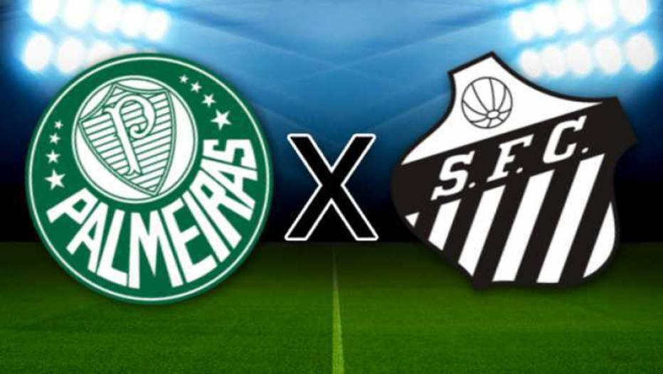 Palmeiras x Santos: onde assistir ao vivo