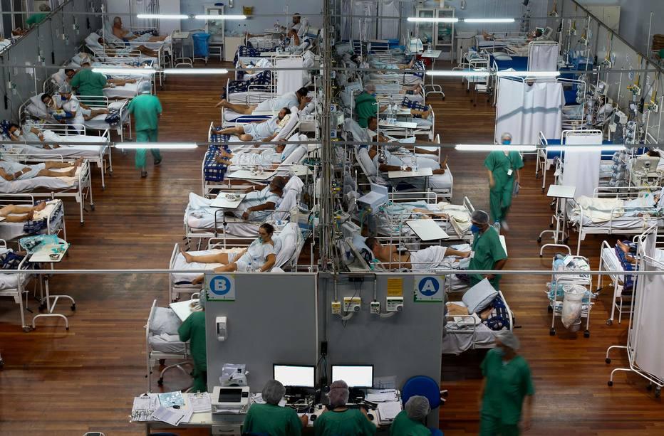 Hospitais da Grande São Paulo estão com alta ocupação de leitos em UTI em enfermaria