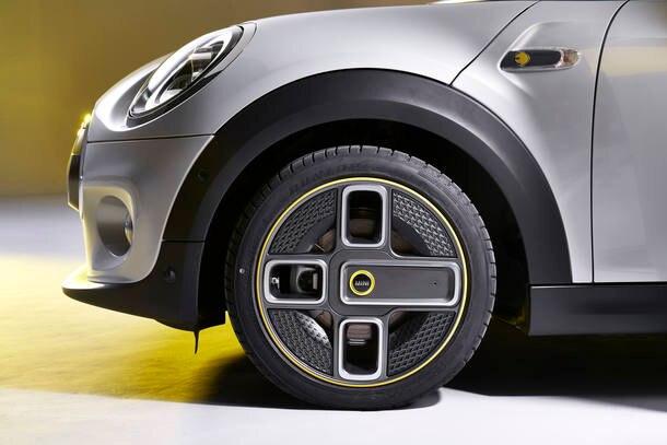 Rodas assimétricas são opcionais