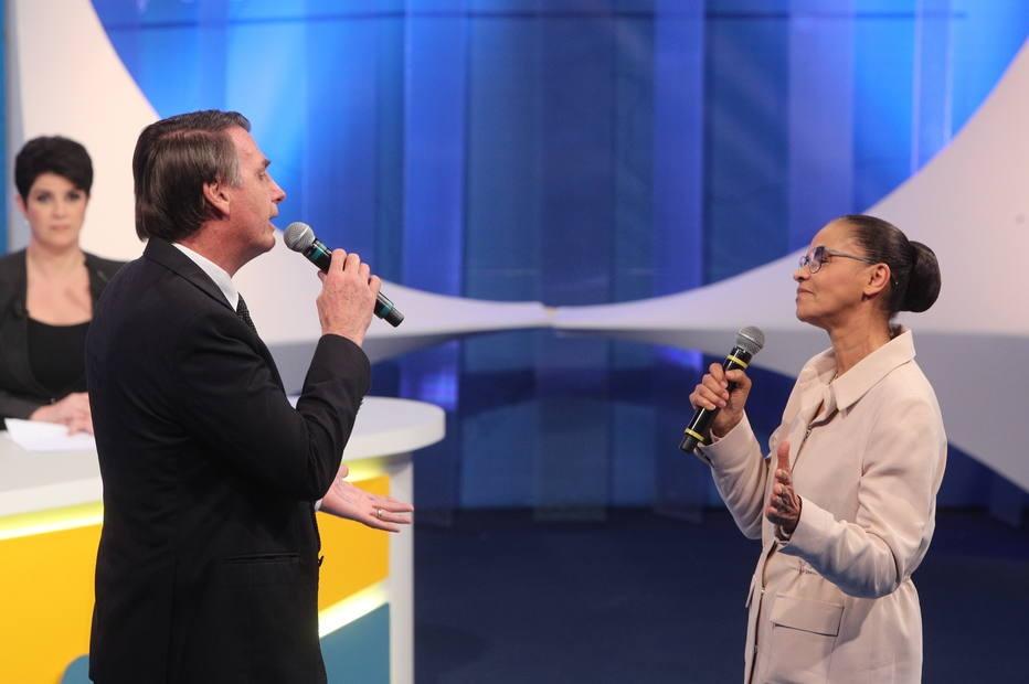 Debate na RedeTV jair bolsonaro marina silva eleições 2018