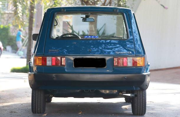 Carro do Leitor - Fiat Spazio 1983
