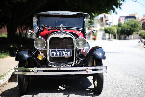 Carro do Leitor - Ford A 1928