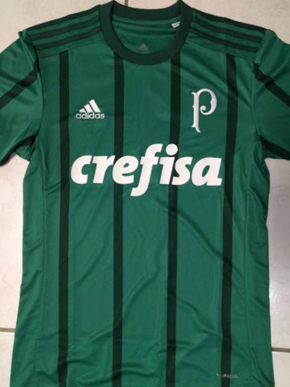Possível camisa do Palmeiras para 2017 vaza nas redes sociais  veja ... a14334ced3b11