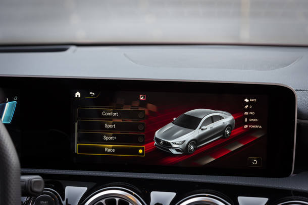 Mercedes-AMG A e CLA 45 S