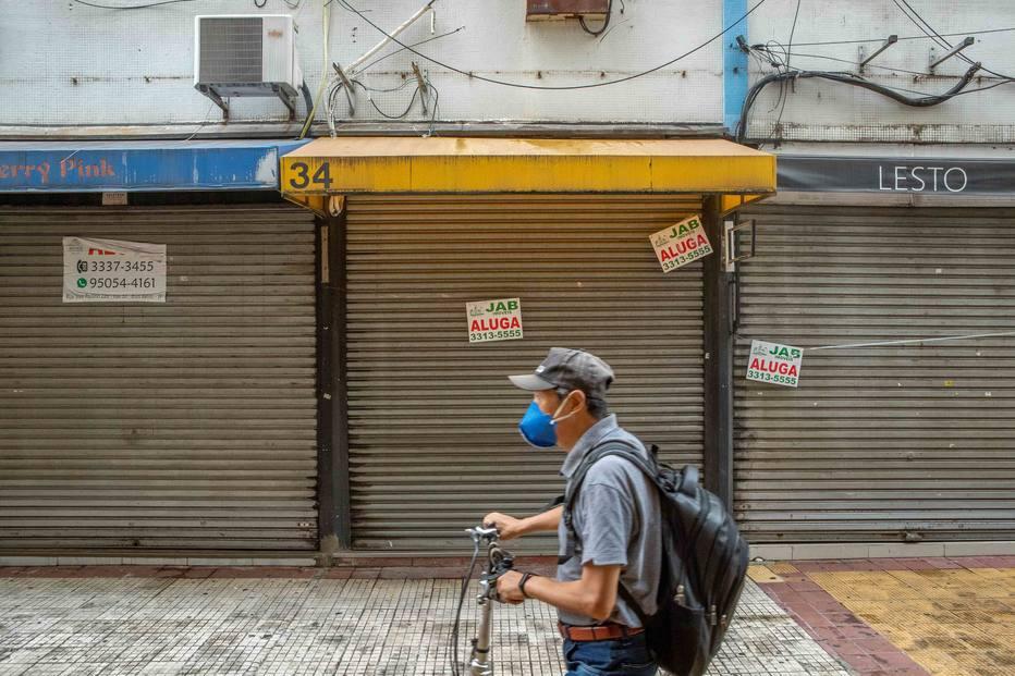Fechamento lojas pandemia