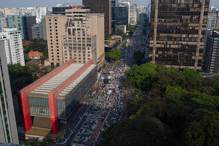 Ato na Paulista