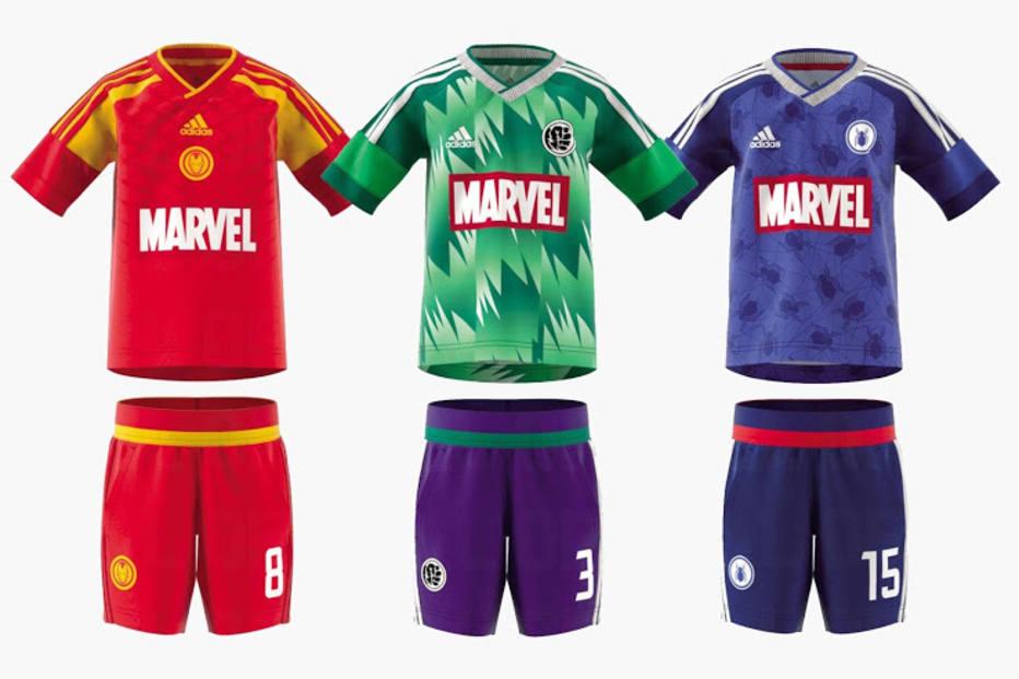 43ffa02243 Adidas vai lançar uniformes inspirados em super-heróis da Marvel  veja