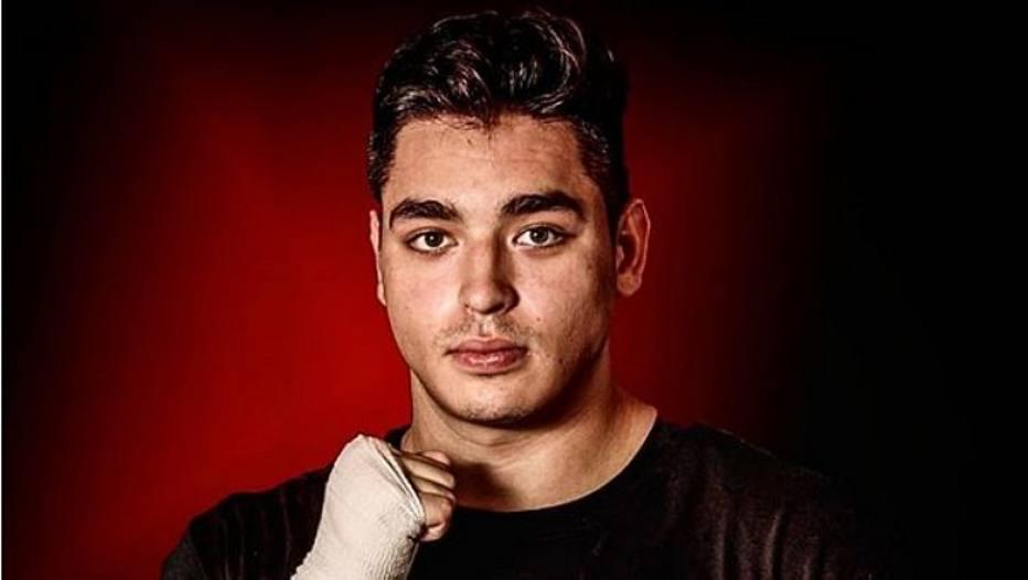Dario Larralde, pugilista mexicano