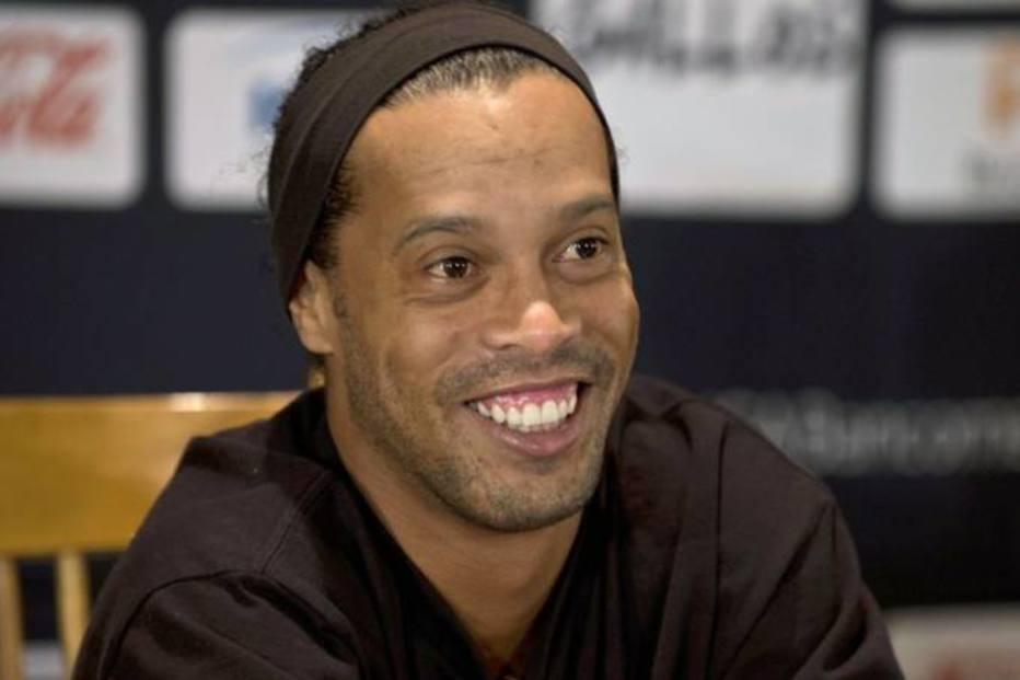 Filiado ao PRB, Ronaldinho Gaúcho diz que não vai se candidatar a nada este ano