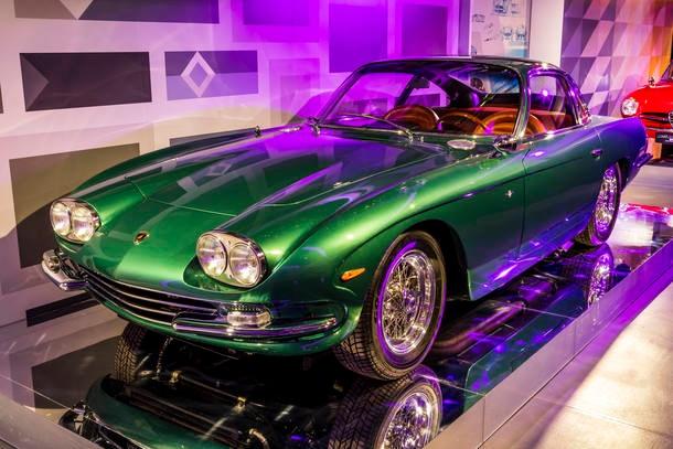 Fiat monta exposição de carros clássicos em Belo Horizonte