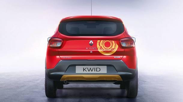 Renault Kwid dos Vingadores