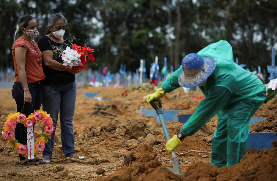 Brasil tem 727 novas mortes por covid-19 em 24 horas; total de infectados passa de 1,3 milhão – Saúde Estadão