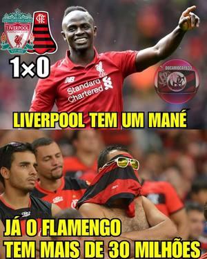 Os Memes Da Derrota Do Flamengo Para O Liverpool Na Final Do