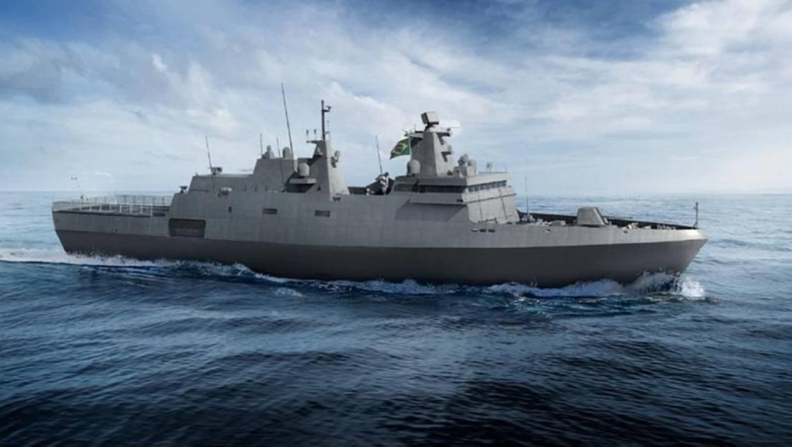 Ilustração da embarcação - Marinha do Brasil