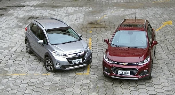 Comparativo: Honda WR-V EXL x Chevrolet Tracker LT