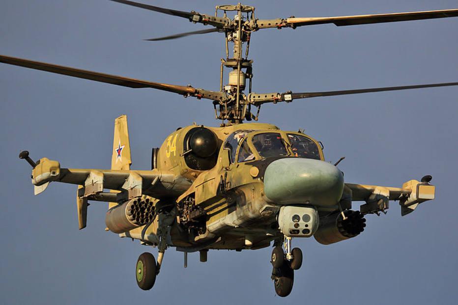 Helicóptero militar russo cai na Síria e dois pilotos morrem